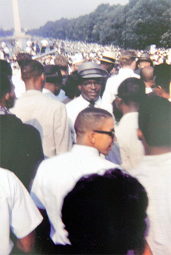 Charles R. W. Wade at the March on Washington
