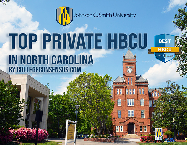 Graphic: Top Private HBCU in North Carolina by Collegeconsensus.com