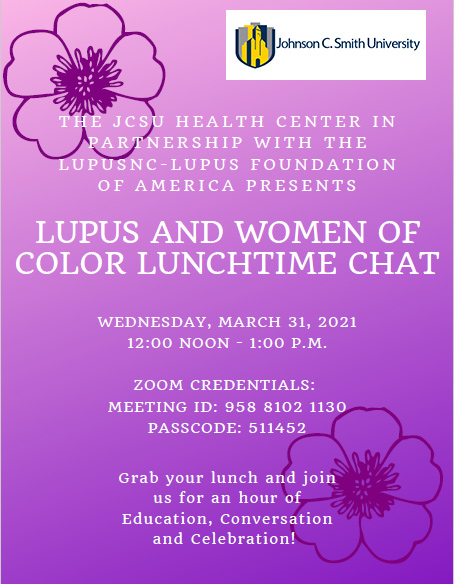 Lupis event flyer