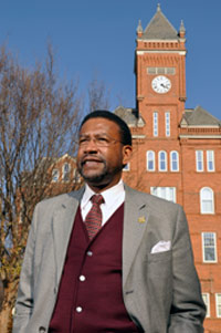 Dr. Carter, Thirteenth President of JCSU