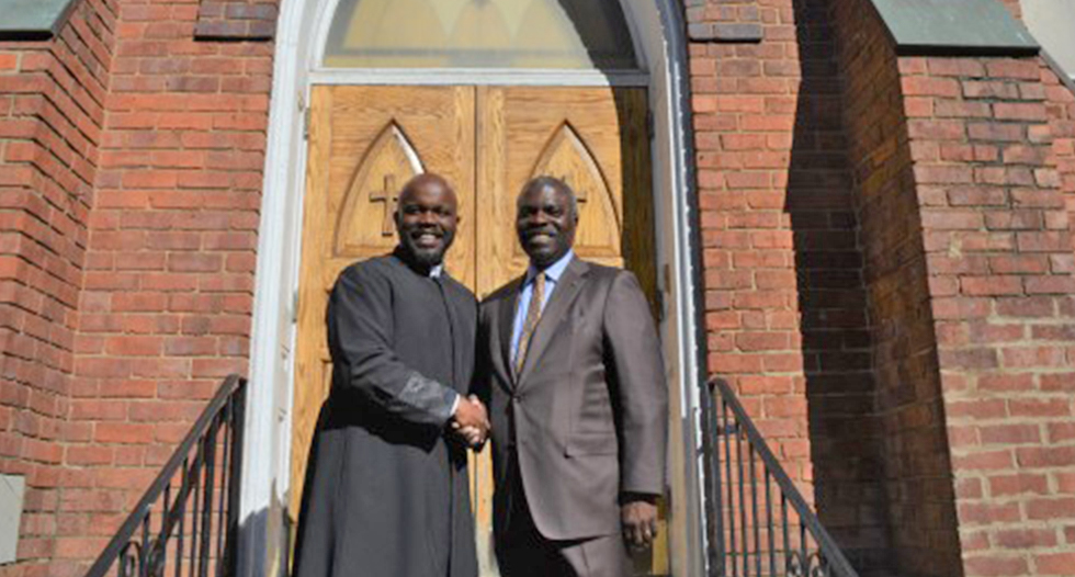 JCSU celebrated its historical bond with First United Presbyterian Church. They are two of the oldest African-American institutions in Charlotte, and have deeply entwined roots.