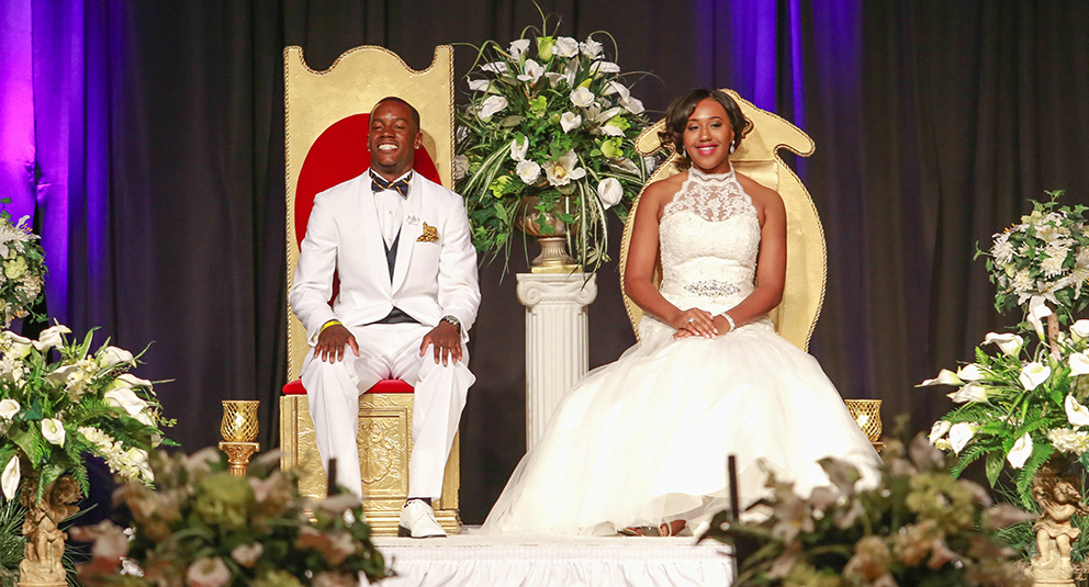JCSU congratulates our new Mr. and Miss JCSU 2014-15, who were crowned during an enchanted evening.