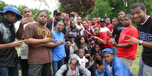 Greek life thrives at JCSU