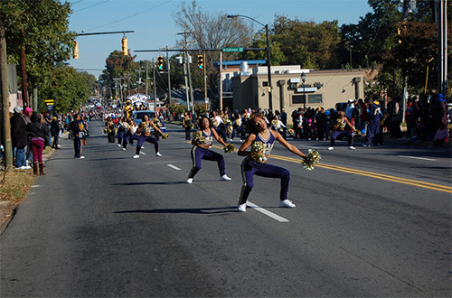 Homecoming Parade 2014